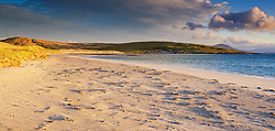 Dawn at Rushgarry, Berneray, Isle of North Uist, Outer Hebrides, Scotland.  Looking across the Sound of Harris towards the Island of Harris.<br /> <br /> (c) Andrew Wilson | Edinburgh Elite media