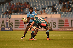 Jamba Ulengo during the Currie Cup Premier Division match between the Blue Bulls and The Griquas held at Loftus Versfeld stadium, Pretoria, South Africa on the 16th September 2016<br /> <br /> Photo by:   Real Time Images