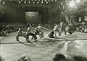Children's ballet Pulling Up the Turnip, International Children's Day, June 1, main hall Peking Hotel, China. 1956. C021-34