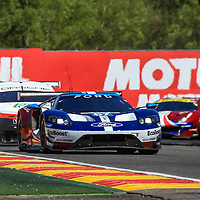 #67, Ford Chip Ganassi Team UK, Ford GT, LMGTE Pro, driven by:  Andy Priaulx, Harry Tincknell, Tony Kanaan, FIA WEC 6hrs of Spa 2018, 05/05/2018,