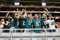 18 Jan 2009: Philadelphia Eagles fans show support before the NFC Championship game against the Arizona Cardinals on January 18th, 2009. The Cardinals won 32-25 at University of Phoenix Stadium in Glendale, Arizona. (Photo by Brian Garfinkel)