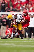 Arizona State University beats University of Utah 35 to 14.  The Game took place at Utah October 8, 2011, #4, 4,  .Photo by: Nathan Sweet