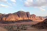 Wadi Rum desert, Jordan the Rum village