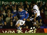 Photo: Rich Eaton.<br /> <br /> Birmingham City v Derby County. Coca Cola Championship. 09/03/2007. Gary McSheffrey left of Birmingham City attacks