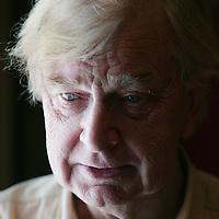 Nederland, Amsterdam , 23 augustus 2009.<br /> Henk van der Meijden (Den Haag, 26 juni 1937) is Nederlands journalist en theaterproducent.<br /> Foto:Jean-Pierre Jans