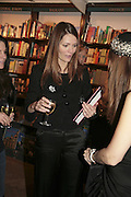 Plum Sykes, Book launch of Pretty Things by Liz Goldwyn at Daunt <br />Books, Marylebone High Street. London 30 November 2006.   ONE TIME USE ONLY - DO NOT ARCHIVE  © Copyright Photograph by Dafydd Jones 248 CLAPHAM PARK RD. LONDON SW90PZ.  Tel 020 7733 0108 www.dafjones.com