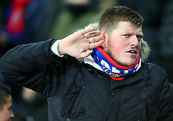 December 12, 2017 - London, Greater London, United Kingdom - Crystal Palace Fan.during Premier League  match between Crystal Palace and Watford at Selhurst Park Stadium, London,  England 12 Dec 2017. (Credit Image: © Kieran Galvin/NurPhoto via ZUMA Press)