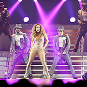 """WASHINGTON, DC - July 28th - Pop superstar Jennifer Lopez performs at the Verizon Center as part of her """"Dance Again"""" world tour. (photo by Kyle Gustafson)"""