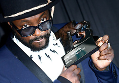 London - Will I Am Shows Off T3 Magazine Award - 28 Sep 2016