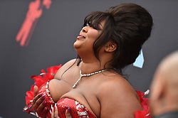 Lizzo attends the 2019 MTV Video Music Awards at Prudential Center on August 26, 2019 in Newark, New Jersey. Photo by Lionel Hahn/ABACAPRESS.COM
