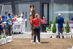 Werth Isabell, GER, Bella Rose 2, 140<br /> Olympic Games Tokyo 2021<br /> © Hippo Foto - Dirk Caremans<br /> 23/07/2021