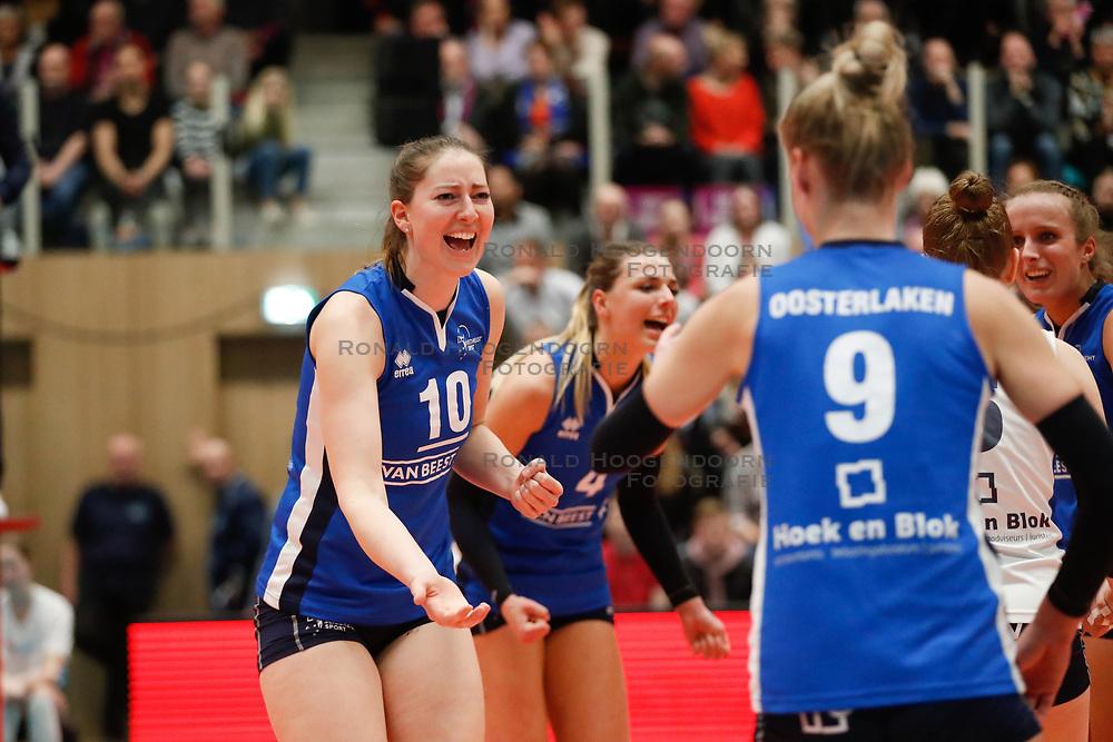 20180218 NED: Bekerfinale Eurosped - Sliedrecht Sport, Hoogeveen <br />Carlijn Ghijssen- Jans (10) of Sliedrecht Sport <br />©2018-FotoHoogendoorn.nl
