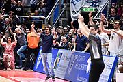 Gianmarco Pozzecco <br /> Consultinvest Bologna - XL Extralight Montegranro<br /> Lega Basket  LNP Serie A2  2017/2018<br /> Bologna, 31/03/2018<br /> Foto A.Giberti / Ciamillo - Castoria.