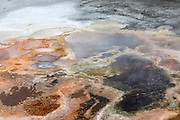 Artist Paintpots at Yellowstone National Park, Wyoming