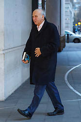 © Licensed to London News Pictures. 10/01/2016. London, UK. Former business secretary Vince Cable arrives at BBC Broadcasting House in London to appear on The Andrew Marr show on BBC One on Sunday, 10 January 2016. Photo credit: Tolga Akmen/LNP