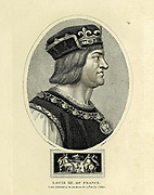 Louis XII of France Louis XII (27 June 1462 – 1 January 1515) was King of France from 1498 to 1515 and King of Naples from 1501 to 1504. The son of Charles, Duke of Orléans, and Maria of Cleves, he succeeded his 2nd cousin once removed, Charles VIII, who died without direct heirs in 1498. Copperplate engraving From the Encyclopaedia Londinensis or, Universal dictionary of arts, sciences, and literature; Volume VII;  Edited by Wilkes, John. Published in London in 1810