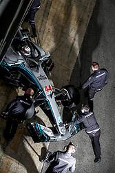 February 26, 2018 - Barcelona, Spain - Motorsports: FIA Formula One World Championship 2018, Test in Barcelona,#44 Lewis Hamilton (GBR, Mercedes AMG Petronas F1 Team) (Credit Image: © Hoch Zwei via ZUMA Wire)