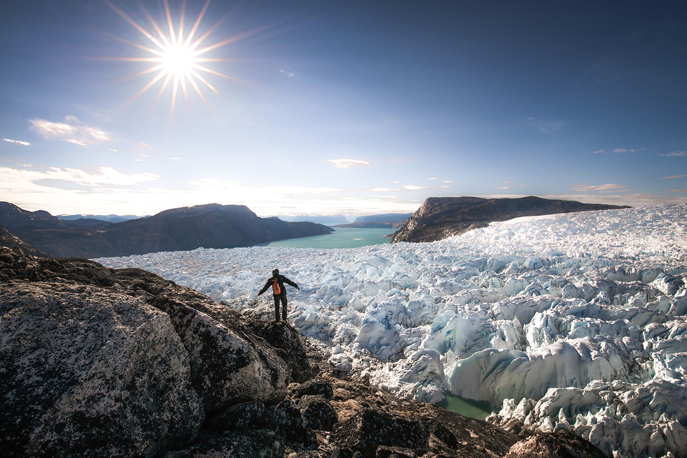 ''Into the Ice Cap'' at Uummannaq Fjord