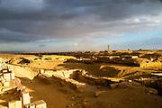 Ongoing excavatoins at the stepped Pyramid of Djoser, Saqqara, Al Badrashin, Giza Governate, Egypt.