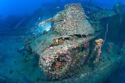 San Francisco Maru, sunk during Operation Hailstone in Truk Lagoon, Chuuk, Micronesia