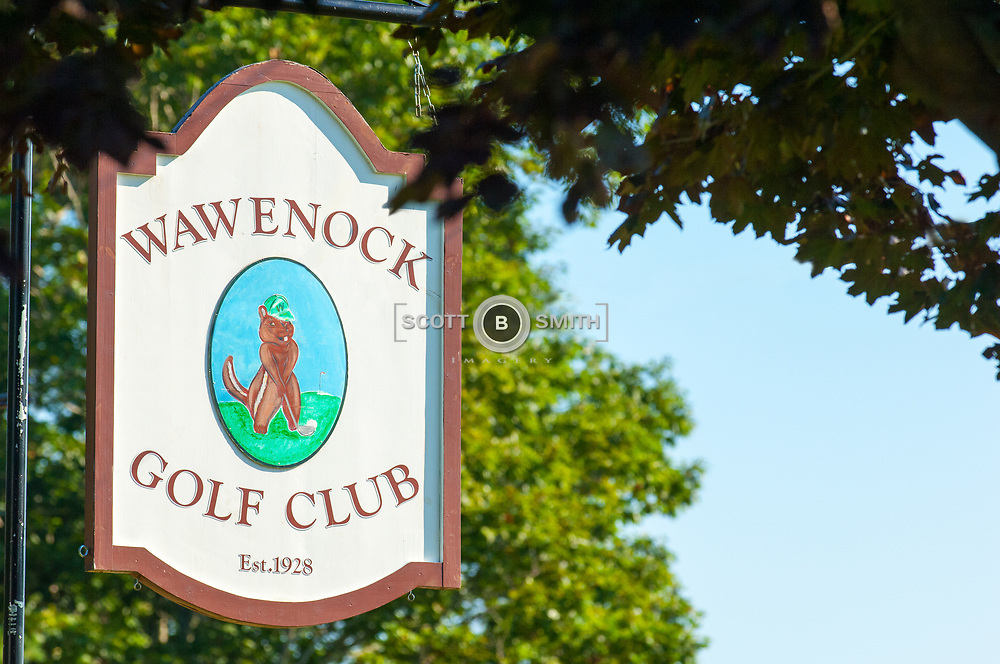 Wawencock Golf Club in Walpole, Maine.  Located just south of Damariscotta and Newcastle Maine.  A nine hole course open to the public.
