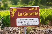 Cave La Gravette. Pic St Loup. Languedoc. France. Europe.