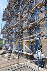 New Haven Courthouse GA 23 Phase 1. Project No: BI-JD-299<br /> Architect: JCJ Architecture  Contractor: Kronenberger Restoration<br /> James R Anderson Photography New Haven CT photog.com<br /> Date of Photograph: 18 June 2013<br /> Camera View: South-southwest - East Elevation  No.: 03