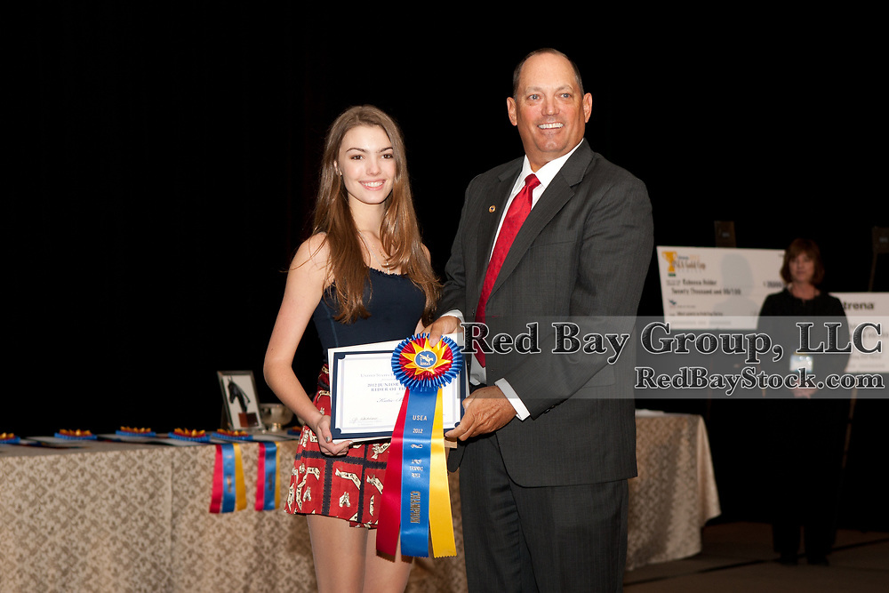Katie Bibeau and Brian Sabo at the 2012 US Eventing Association Annual Meeting and Convention in Colorado Springs, CO.