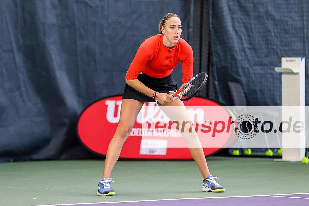 Im Bild: Tena LUKAS (CRO) [1] <br /> <br /> Tennis Future Hamburg - ITF-W25 Hamburg, Hamburg, Tennis-Verband Hamburg, 12.01.2021, <br /> <br /> Foto: Claudio Gärtner