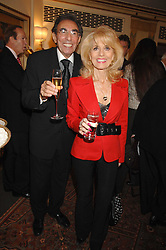MICHAEL & JULIE BLACK at a tribute lunch for Elaine Paige hosted by the Lady Taverners at The Dorchester, Park Lane, London on 13th November 2007.<br />