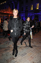 ISABELLA ANSTRUTHER-GOUGH-CALTHORPE at Skate presented by Tiffany & Co at Somerset House, London on 22nd November 2010.