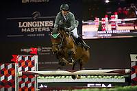 Henrick von Eckermann competes during Hong Kong Jockey Club Trophy at  the Longines Masters of Hong Kong on 19 February 2016 at the Asia World Expo in Hong Kong, China. Photo by Juan Manuel Serrano / Power Sport Images