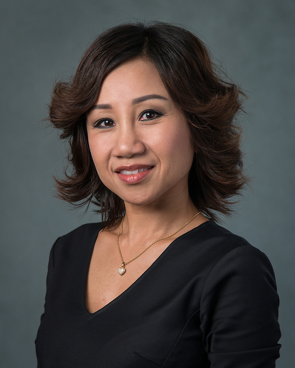 Phuong Tieu poses for a photograph during the Professional Learning Series at NRG Center, June 15, 2016.