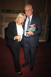 MARTIN LEWIS and PATSY BAKER at a party to celebrate the publication of Sandra Howard's book 'Ursula's Stor' held at The British Academy, 10 Carlton House Terace, London on 4th September 2007.<br /><br />NON EXCLUSIVE - WORLD RIGHTS