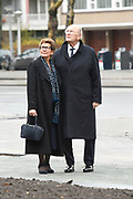 Joop en Janine van den Ende In Amsterdam Zuid