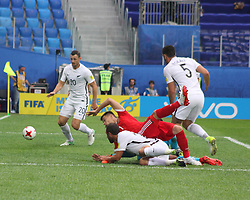 June 17, 2017 - Saint-Petersburg - Of The Russian Federation. Saint-Petersburg. Arena Saint-Petersburg. Confederations Cup 2017 in Russia. Football the opening match of the Confederations Cup Russia - New Zealand. FIFA. Russia striker Dmitry Poloz. (Credit Image: © Russian Look via ZUMA Wire)