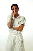 Liz Claiborne, fashion designer.