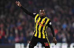 Watford's Abdoulaye Doucoure in action during the Premier League match at the Cardiff City Stadium.