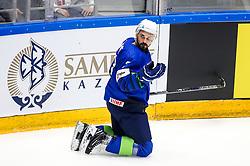 Klemen Pretnar of Slovenia during ice hockey match between Slovenia and Kazakhstan at IIHF World Championship DIV. I Group A Kazakhstan 2019, on April 29, 2019 in Barys Arena, Nur-Sultan, Kazakhstan. Photo by Matic Klansek Velej / Sportida