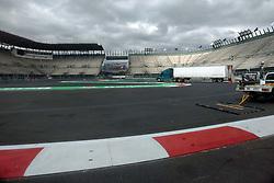 October 25, 2017 - EUM20171025DEP08.JPG.CIUDAD DE MÉXICO RacesCarreras-GP México.- Aspectos generales de la zona del Foro Sol del Autódromo Hermanos Rodríguez. La pista se aprecia en óptimas condiciones a dos días de que inicie el Gran Premio de México, 25 de octubre de 2017. Foto: Agencia EL UNIVERSALRenzo ChiquitoMAVC (Credit Image: © El Universal via ZUMA Wire)
