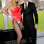 NLD/Zaandam/20100503 - Bekendmaking Playmate of the Year 2009, Lawrence Kho met playmate