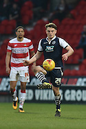 Ben Thompson of Millwall FC  during the Sky Bet League 1 match between Doncaster Rovers and Millwall at the Keepmoat Stadium, Doncaster, England on 27 February 2016. Photo by Ian Lyall.