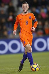Bart Ramselaar of Jong Oranje during the EURO U21 2017 qualifying match between Netherlands U21 and Andorra U21 at the Vijverberg stadium on November 10, 2017 in Doetinchem, The Netherlands
