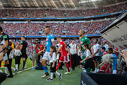 August 2, 2017 - Munich, Germany - Marek Hamsík of SSC Napoli enters the field during the Audi Cup 2017 match between SSC Napoli v FC Bayern Muenchen at Allianz Arena on August 2, 2017 in Munich, Germany. (Credit Image: © Paolo Manzo/NurPhoto via ZUMA Press)