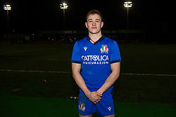 Man of the match Steve Varney of Italy <br /> <br /> Photographer Craig Thomas/Replay Images<br /> <br /> U20 Six Nations - Wales v Italy  - Friday 31st January 2020 - Stadiwm Zip World (Parc Eirias) - Colwyn Bay<br /> <br /> World Copyright © Replay Images . All rights reserved. info@replayimages.co.uk - http://replayimages.co.uk