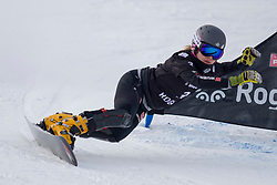 Carolin Langenhorst (GER) during Final Run at Parallel Giant Slalom at FIS Snowboard World Cup Rogla 2019, on January 19, 2019 at Course Jasa, Rogla, Slovenia. Photo byJurij Vodusek / Sportida