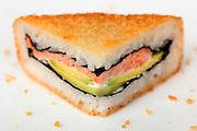 Deep fried Sushi sandwich