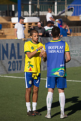 July 8, 2017 - Sao Paulo, Sao Paulo, Brazil - Players from several countries attend the amateur soccer championship ''NeymarJr's Five'' at the NeymarJr Institute, in Praia Grande in Sao Paulo, Brazil, this Saturday, 08. (Credit Image: © Paulo Lopes via ZUMA Wire)