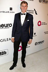February 24, 2019 - West Hollywood, CA, USA - LOS ANGELES - FEB 24:  Lukas Sauer at the Elton John Oscar Viewing Party on the West Hollywood Park on February 24, 2019 in West Hollywood, CA (Credit Image: © Kay Blake/ZUMA Wire)