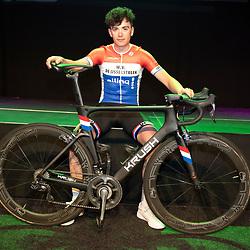 25-02-2020: Wielrennen: Teampresentatie IJsselstreek; Harderwijk<br />Nederlands Kampioen Robin Lowik